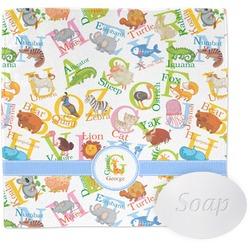 Animal Alphabet Wash Cloth (Personalized)