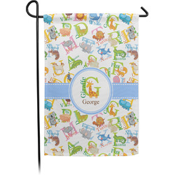 Animal Alphabet Garden Flag - Single or Double Sided (Personalized)