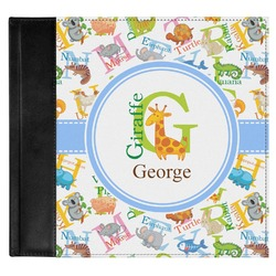 Animal Alphabet Genuine Leather Baby Memory Book (Personalized)