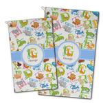 Animal Alphabet Golf Towel - Full Print w/ Name or Text