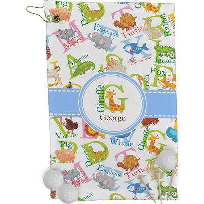 Animal Alphabet Golf Towel - Full Print (Personalized)