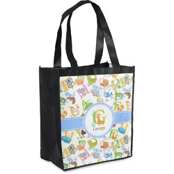 Animal Alphabet Grocery Bag (Personalized)