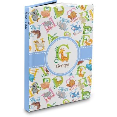 Animal Alphabet Hardbound Journal (Personalized)