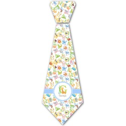 Animal Alphabet Iron On Tie (Personalized)