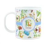 Animal Alphabet Plastic Kids Mug (Personalized)