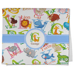 Animal Alphabet Kitchen Towel - Full Print (Personalized)