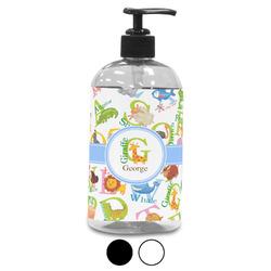 Animal Alphabet Plastic Soap / Lotion Dispenser (Personalized)