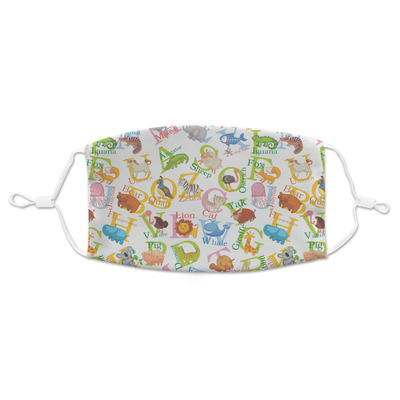 Animal Alphabet Adult Cloth Face Mask (Personalized)