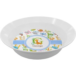 Animal Alphabet Melamine Bowl (Personalized)