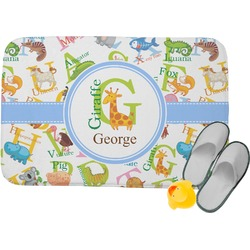 Animal Alphabet Memory Foam Bath Mat (Personalized)