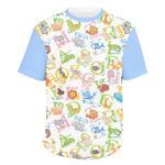 Animal Alphabet Men's Crew T-Shirt (Personalized)