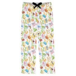 Animal Alphabet Mens Pajama Pants (Personalized)