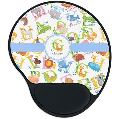 Animal Alphabet Mouse Pad with Wrist Support