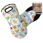 Animal Alphabet Neoprene Oven Mitt (Personalized)