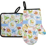 Animal Alphabet Oven Mitt & Pot Holder (Personalized)