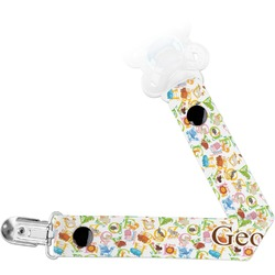 Animal Alphabet Pacifier Clips (Personalized)