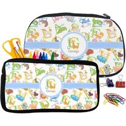 Animal Alphabet Pencil / School Supplies Bag (Personalized)