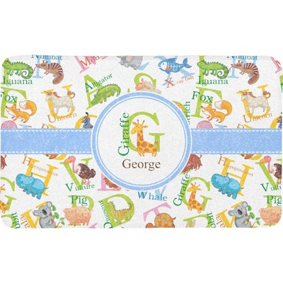Animal Alphabet Bath Mat (Personalized)