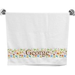 Animal Alphabet Bath Towel (Personalized)