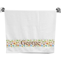 Animal Alphabet Bath Towel (Personalized)