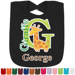 Animal Alphabet Bib - Select Color (Personalized)