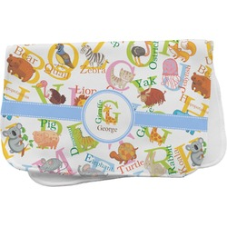 Animal Alphabet Burp Cloth (Personalized)