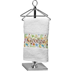 Animal Alphabet Finger Tip Towel (Personalized)