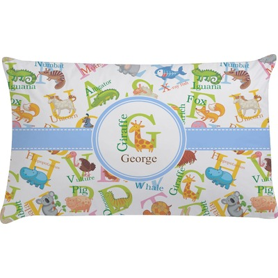 Animal Alphabet Pillow Case (Personalized) - YouCustomizeIt