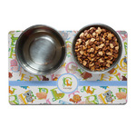 Animal Alphabet Dog Food Mat (Personalized)