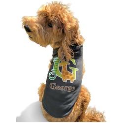 Animal Alphabet Black Pet Shirt - S (Personalized)