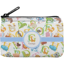 Animal Alphabet Rectangular Coin Purse (Personalized)