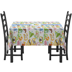 Animal Alphabet Tablecloth (Personalized)