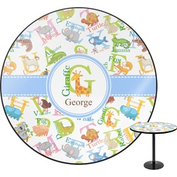 Animal Alphabet Round Table (Personalized)