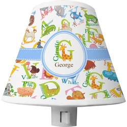 Animal Alphabet Shade Night Light (Personalized)