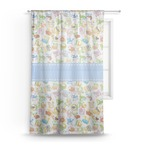 Animal Alphabet Sheer Curtains (Personalized)