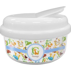 Animal Alphabet Snack Container (Personalized)