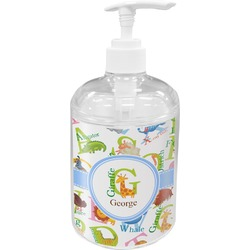 Animal Alphabet Soap / Lotion Dispenser (Personalized)