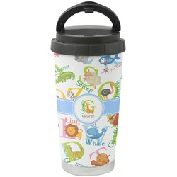 Animal Alphabet Stainless Steel Coffee Tumbler (Personalized)