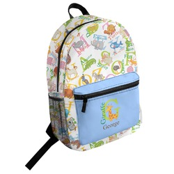 Animal Alphabet Student Backpack (Personalized)
