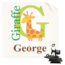 Animal Alphabet Sublimation Transfer (Personalized)