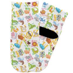 Animal Alphabet Toddler Ankle Socks (Personalized)