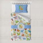 Animal Alphabet Toddler Bedding w/ Name or Text