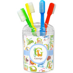 Animal Alphabet Toothbrush Holder (Personalized)