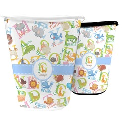 Animal Alphabet Waste Basket (Personalized)