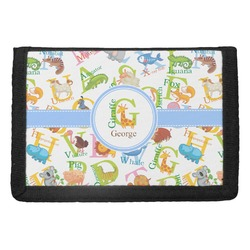 Animal Alphabet Trifold Wallet (Personalized)