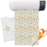 "Animal Alphabet Heat Transfer Vinyl Sheet (12""x18"")"