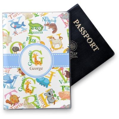 Animal Alphabet Vinyl Passport Holder (Personalized)