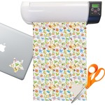 Animal Alphabet Sticker Vinyl Sheet (Permanent)