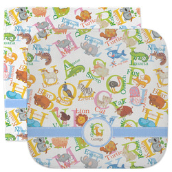 Animal Alphabet Facecloth / Wash Cloth (Personalized)