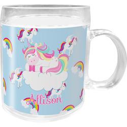 Rainbows and Unicorns Acrylic Kids Mug (Personalized)